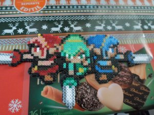 Link ( the legend of zelda - Tri Force Heroes ) ( magnet ) ( Mini)