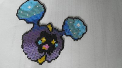 Cosmog Mini Pixel Art Hama