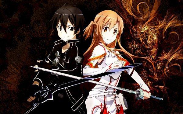 kirito x asuna sword art online