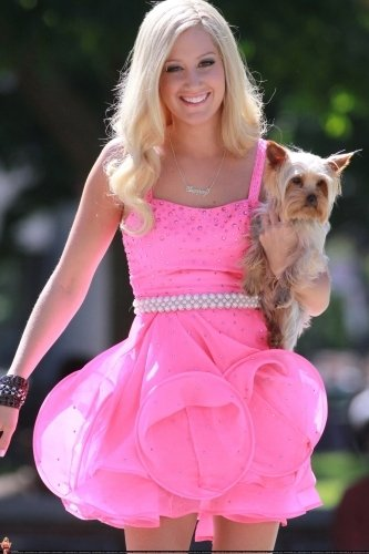 Quelques Photos Du Tournage De Sharpay's Fabulous Adventures!!