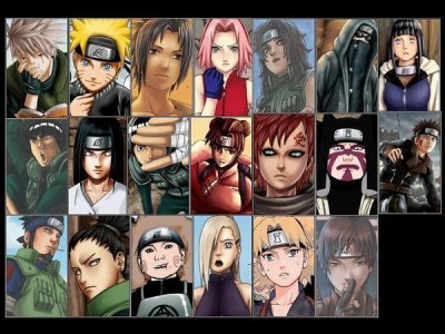 Les ninjas les plus importants de NARUTO!