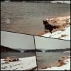 L'hiver au Lac Saint Point.