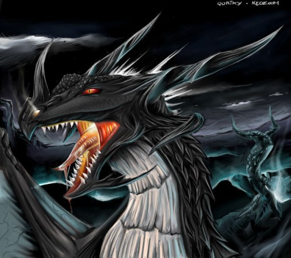 dragon des enfer