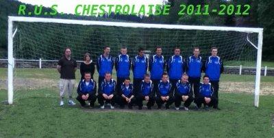 Noyau de l'équipe première 2011-2012 !