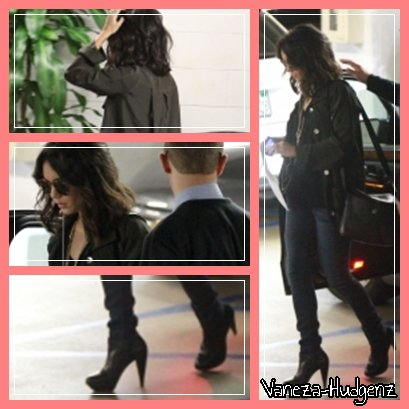 Vanessa Hudgens : Le 06/04/011. Vanessa quittant un parking pour ensuite aller faire du shopping dans West Hollywood. Top ?
