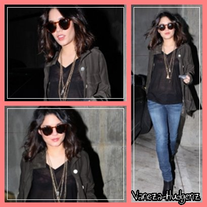 Vanessa Hudgens : Le 06/04/011. Vanessa quittant un parking pour ensuite aller faire du shopping dans West Hollywood. Top ?