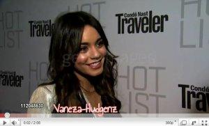 Vanessa Hudgens : Le 11/04/2011. Vanessa, avec des extensions, été présente à la « Conde Nast Hot List party ». Magnifique Top !