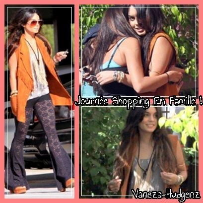 Vanessa Hudgens : Le 28 Avril 2011 : Vanessa faisait du shopping au Westfield Mall avec sa mère et sa soeur, puis les a quitté pour finir seule.