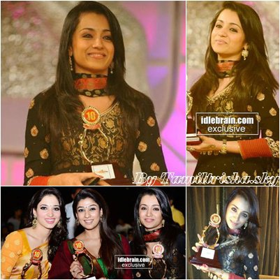 Trisha - Santosham Film Awards