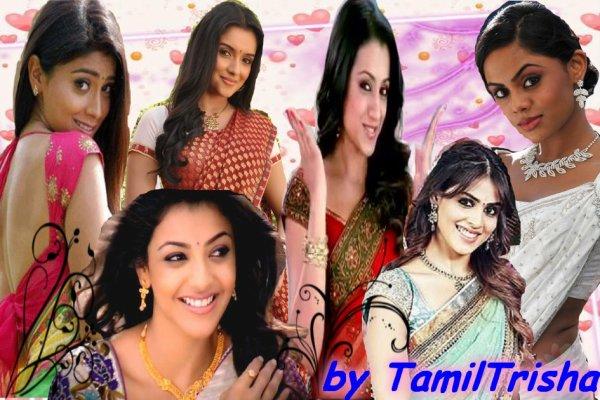 voici les plus belles actrices en saree