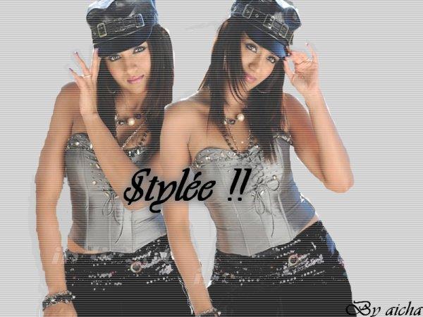 Trisha stylee !