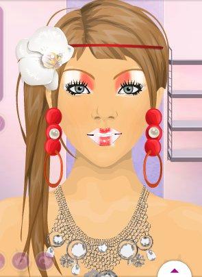 Maquillage pour le concours de stardollmodes