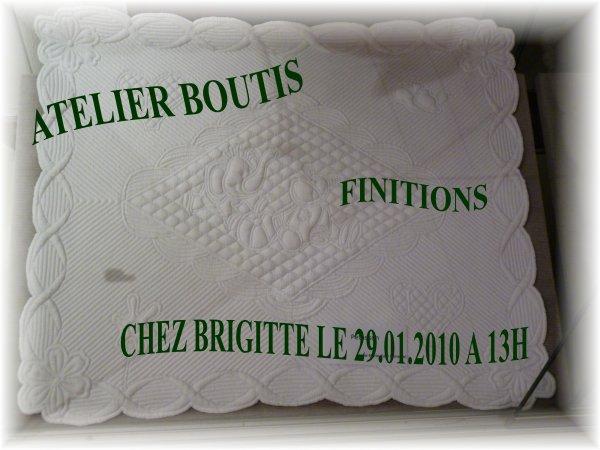 ATELIER DE BOUTIS CHEZ BRIGITTE
