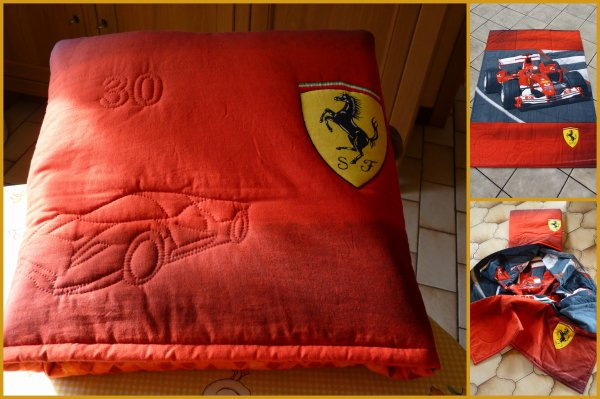 MON MAGIC PILLOW FERRARI POUR MON GRAND