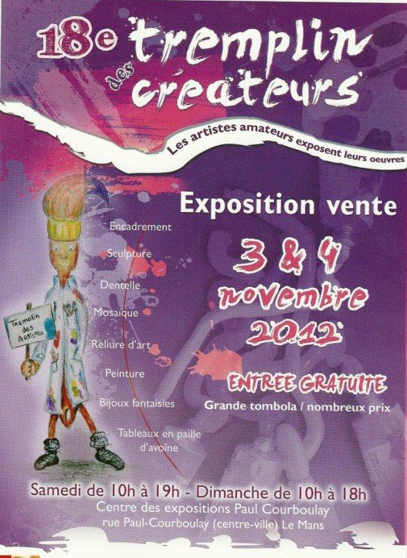 LE TREMPLIN DES CREATEURS - EXPOSITION VENTE