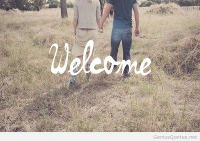 Bienvenue.