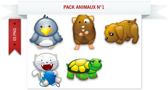 Pack animaux n°1