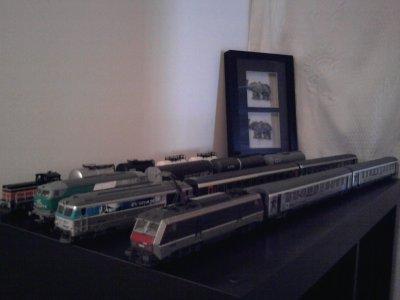 Les quatre Trains du Réseau