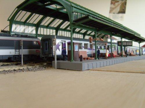 Des Détails et les côtés les moins vu de la Gare de Château-Vaillant 2