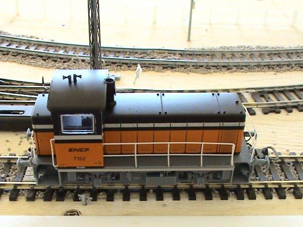Le locotracteur 7152 reprend du service
