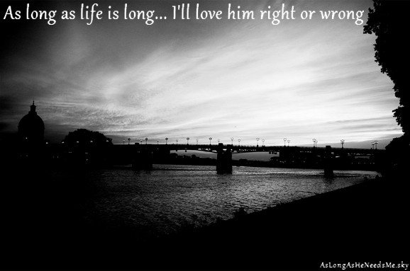 As Long As He Needs Me - Prologue