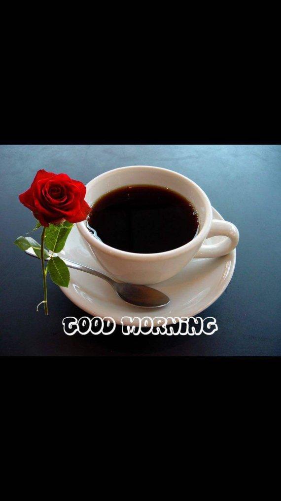 Café pour une très bonne matinée pour toit