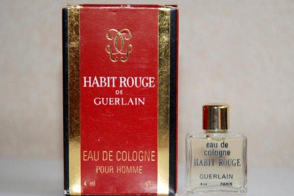 Habit Rouge de GUERLAIN (1980)