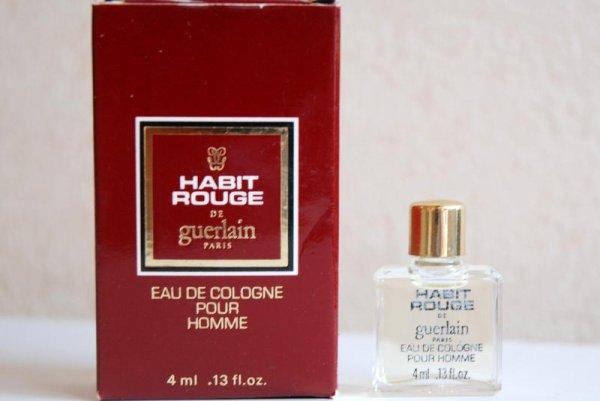 Habit Rouge de GUERLAIN (1982)