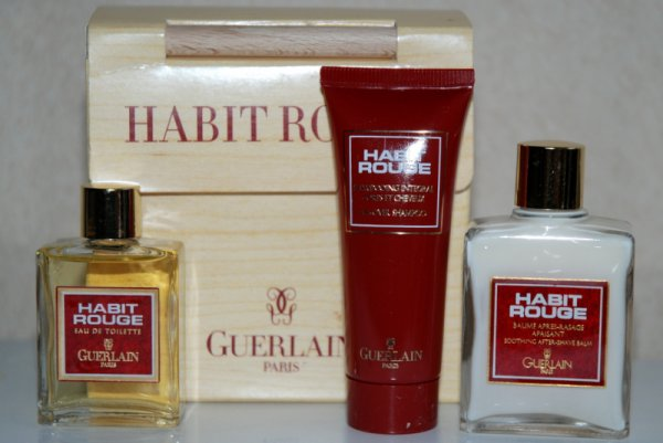 Habit Rouge de GUERLAIN coffret