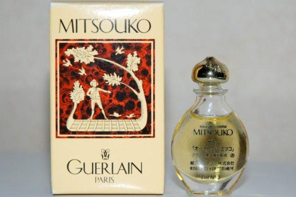 Goutte de GUERLAIN G 8 (1986), réservée au Japon, boite Semeur