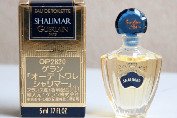 Shalimar de GUERLAIN, Réplique Eau de Toilette, version Asiatique