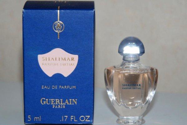 Shalimar de GUERLAIN, Réplique Initial