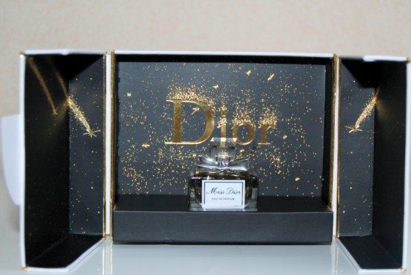 Miss Dior de DIOR - Création 2012 - Coffret Noël