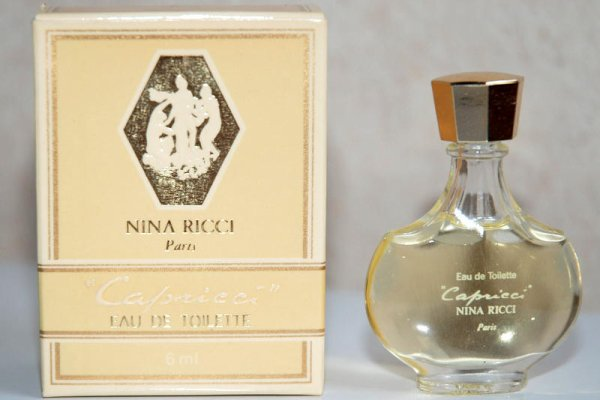 Capricci de RICCI - Création 1961 - Réplique flacon amphore boite beige