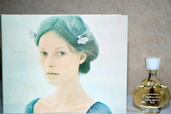 Capricci de RICCI - Création 1961 - Réplique flacon amphore Eau de parfum