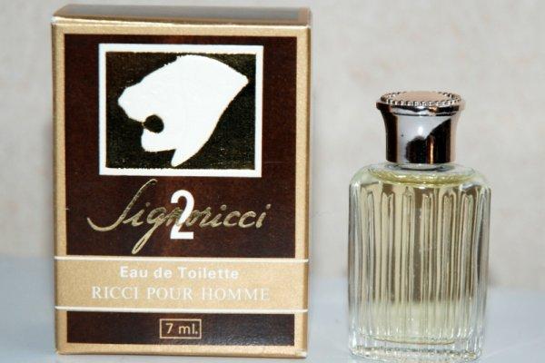 Signoricci 2 de RICCI - Création 1975 - Boite Ricci pour Homme
