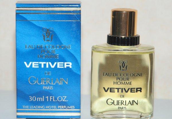 Vétiver de GUERLAIN (1987) -  Leading Hôtel Perfumes