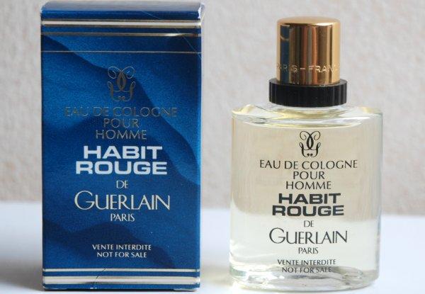 Habit Rouge de GUERLAIN (1987), Leading Hôtel Perfumes