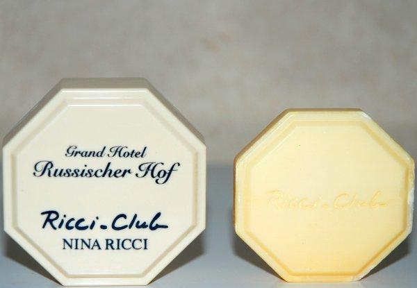 Ricci Club de RICCI - Création 1989 - Savon d'Hôtel