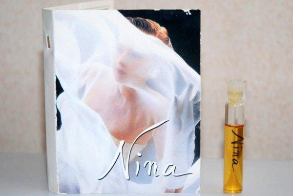 Nina de RICCI - Création 1987 - Echantillon