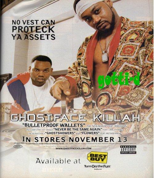 Ghostface Killah - Bulletproof Wallets