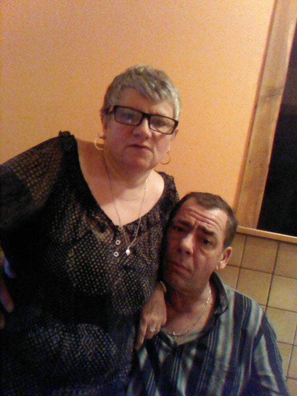 Ma mère et mon beau père