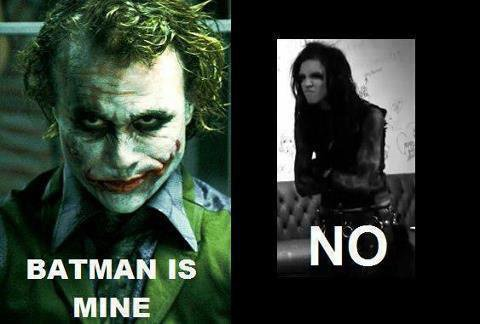 Batman is mine... NO