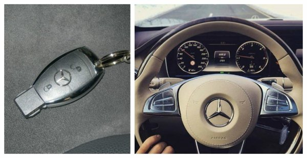 Mercedes classe C :D