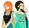 ♥Anna-Nami vs Elsa-Robin