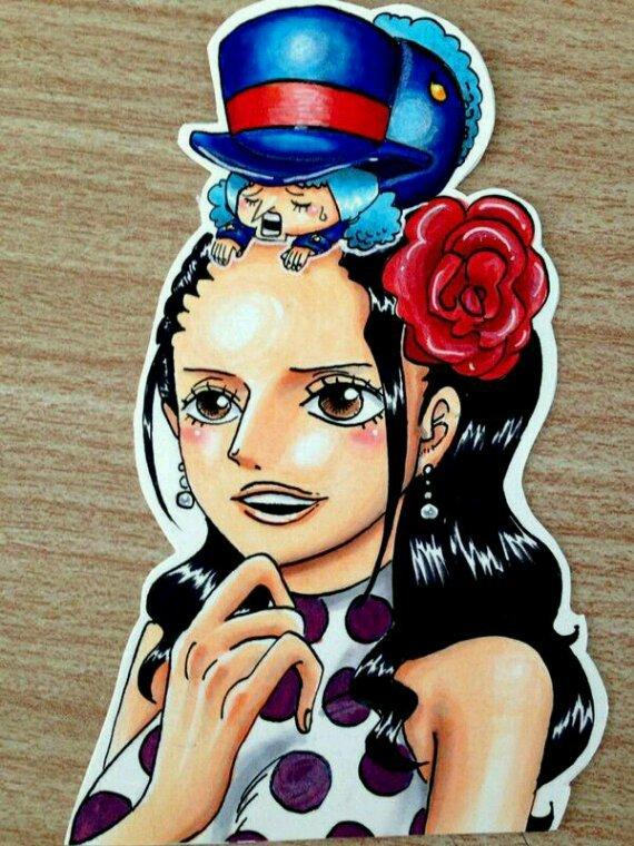 Robin Rebecca Violette Nami!
