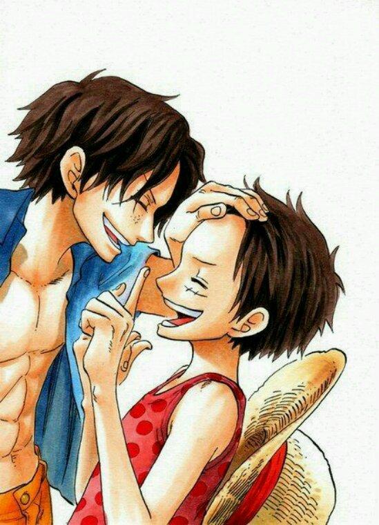 Ace et Luffy un grand amour fraternel