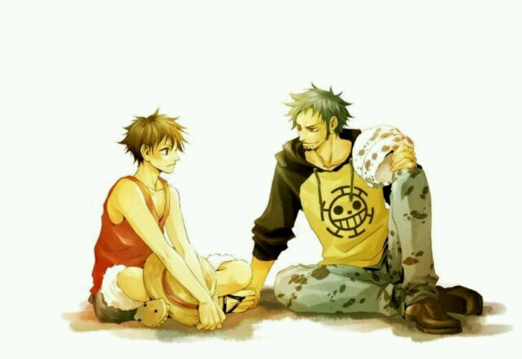 Law ... Luffy ... deux amours