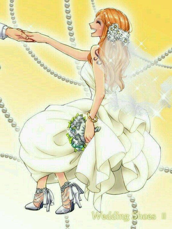 Les robes de mariée de Nami.