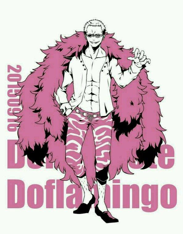 Luffy Doflamingo Zoro Bartolameo Corazon